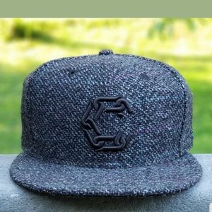 Crooks and Castles New Era Woven Fitted Hat